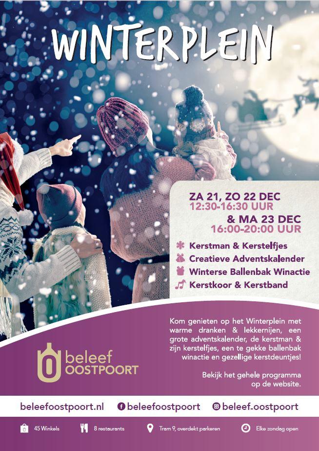 Kerst in winkelgebied Oostpoort