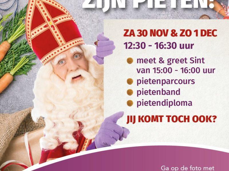 Word een 'echte' Piet in Winkelgebied Oostpoort!